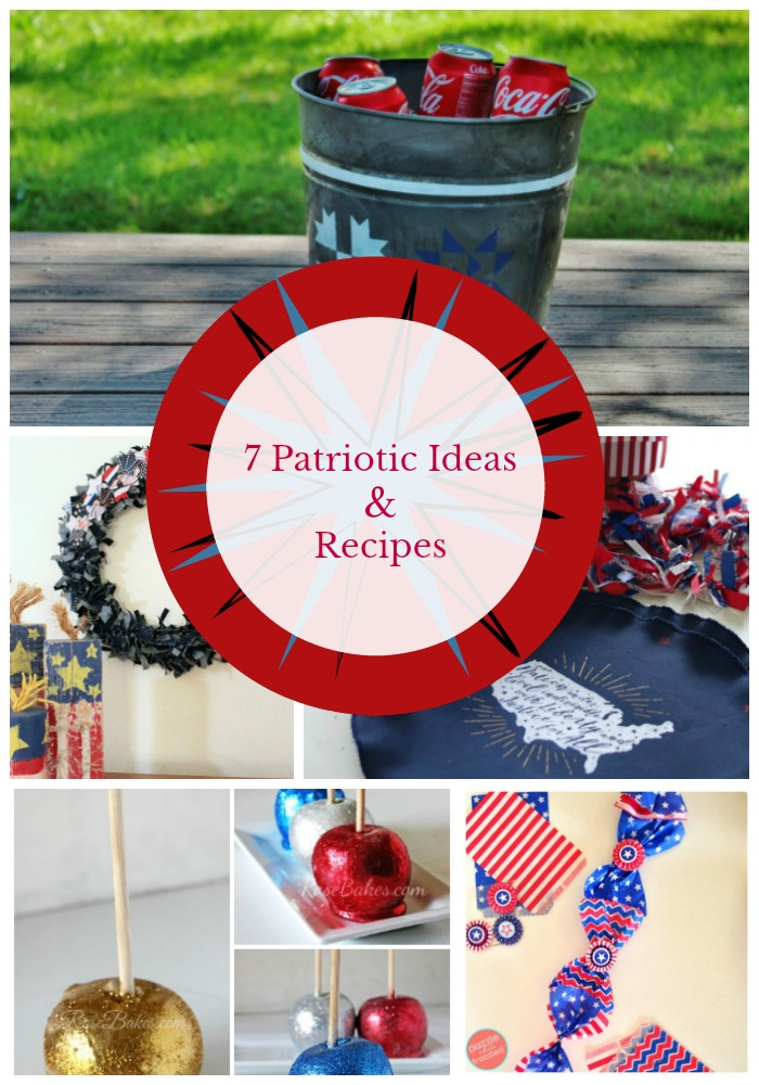 7 Patriotic Ideas and Recipes - Our Southern Home on fiesta decorations ideas, pool party decorations ideas, cinco de mayo decorations ideas, graduation decorations ideas, halloween tree decorations ideas, strawberry shortcake decorations ideas, beer decorations ideas, cocktail party decorations ideas, weddings decorations ideas, birthday decorations ideas, anniversary decorations ideas,