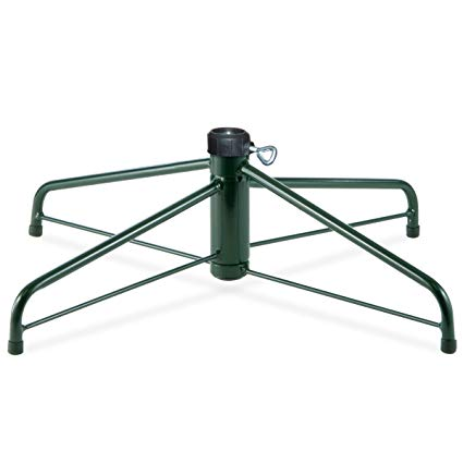 National Tree 28-Inch Folding Tree Stand for 7.5-Feet to 8-Feet Trees, Fits 1.25-Inch Pole (FTS-28-1)