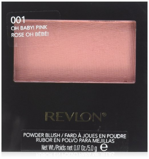 Revlon Powder Blush, 001 Oh Baby Pink, 0.17 Ounce