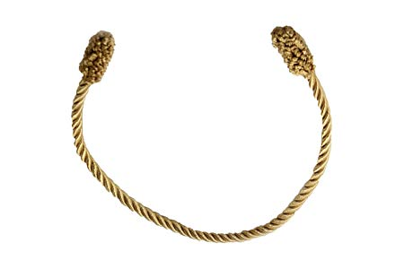 Haute Decor Decorative Twist Ties, 6 Pack, 16 inch, Gold