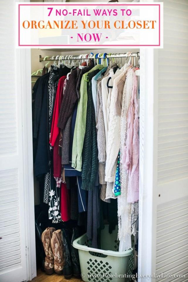 organined closet