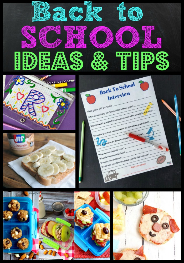 Back to School Ideas & Tips