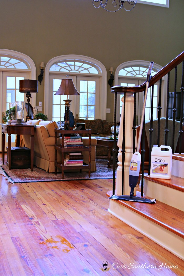 Bona hardwood floor cleaner by Our Southern Home 3