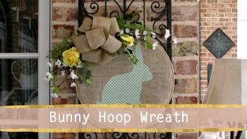 Bunny Hoop Wreath (1)