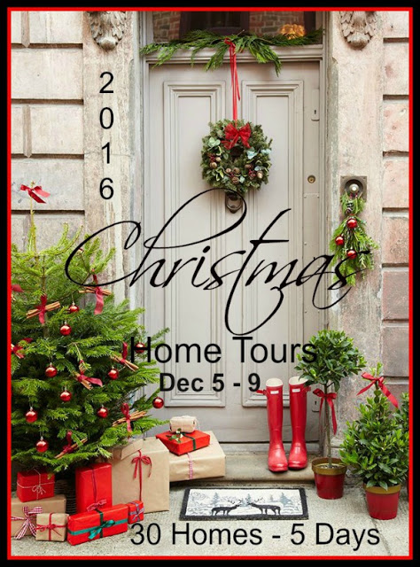 2016 Christmas Home Tour with 30 homes featured over 5 days
