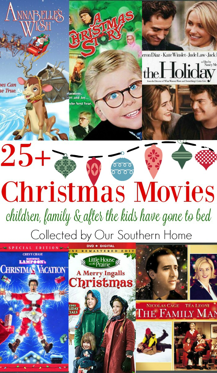 Christmas Movie Collage - Our Southern Home