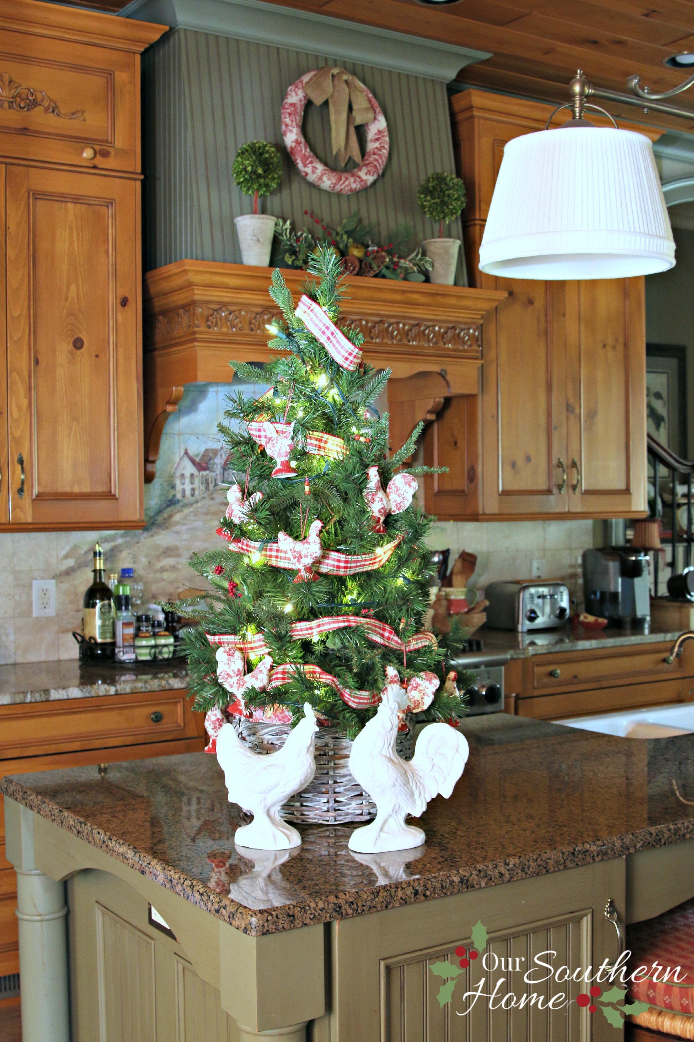 christmas tree basket our southern home