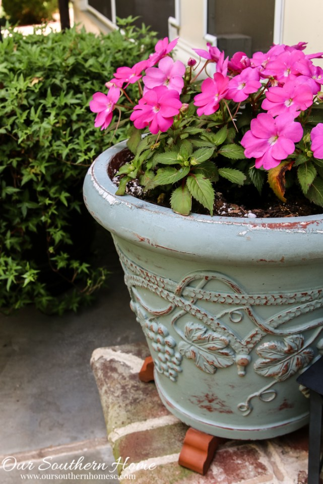 Container gardening ideas from Our Southern Home