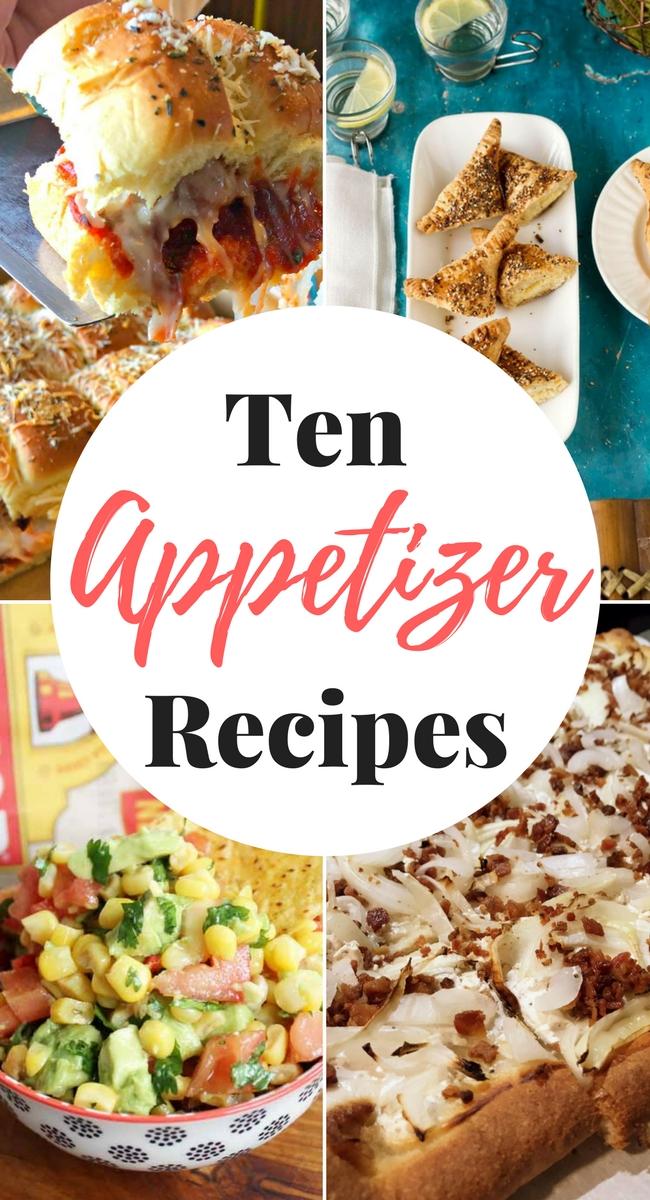 Ten Amazing Appetizers