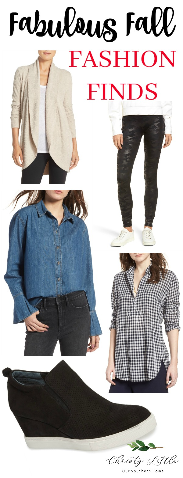 Fabulous fall fashion finds from the Nordstrom Anniversary Sale! #nordstrom #fallfashion #christylittlestyle