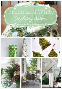Green and White Holiday Ideas