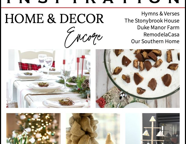 graphic pin of holiday ideas