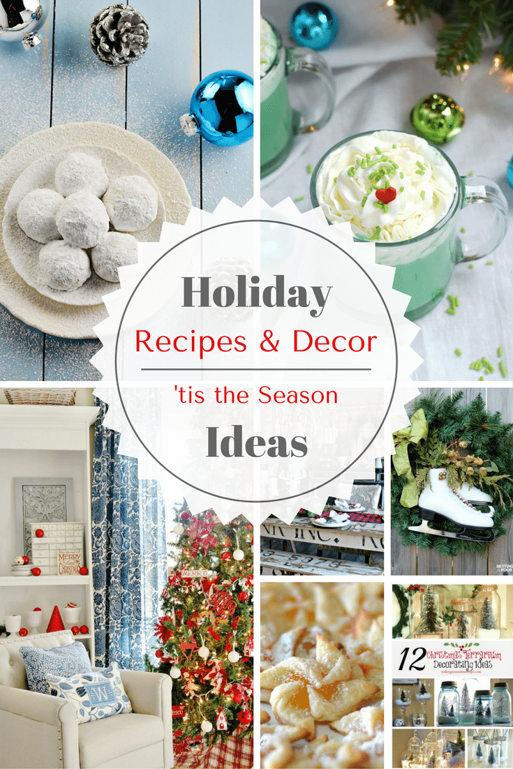 This week's features from Inspiration Monday are perfect as fall comes to a close and we welcome in the holidays with Holiday Recipes and Decor Ideas!