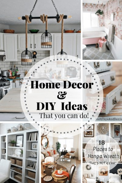 DIY Ideas for the Home