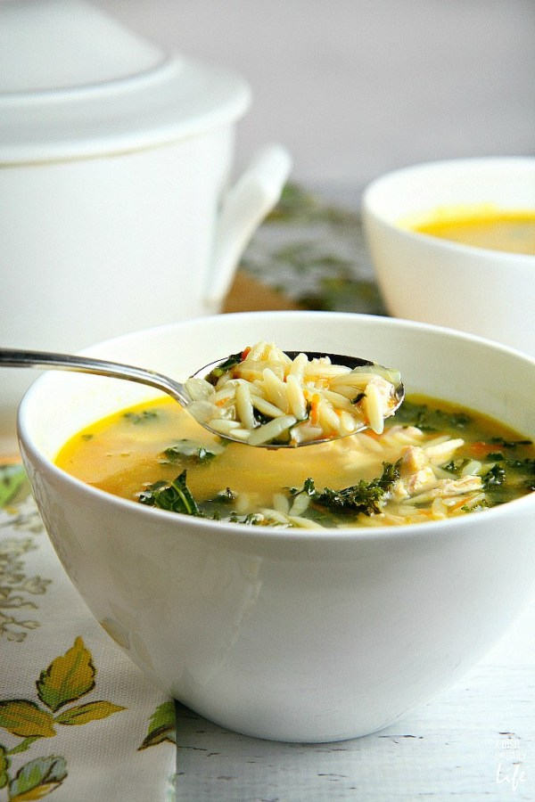 Comfort Soups perfect for fall and warming your soul! Features from the weekly Inspiration Monday link party via Our Southern Home