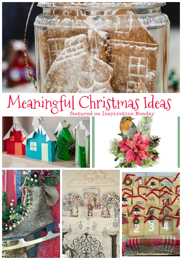 thats why i have chosen my favorite meaningful christmas ideas from last weeks inspiration monday party