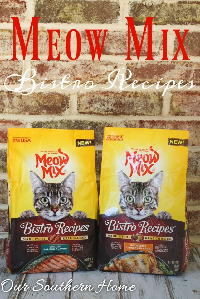 Meow Mix Bistro from Walmart is the perfect way to show your cat that your love him via Our Southern Home #ad #cats