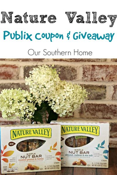 Nature Valley Publix coupon and Giveaway at Our Southern Home #ad #SimplySnacking
