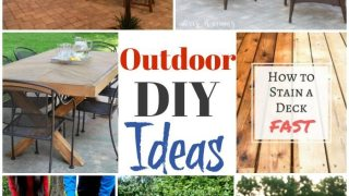Summer Outdoor DIY Ideas