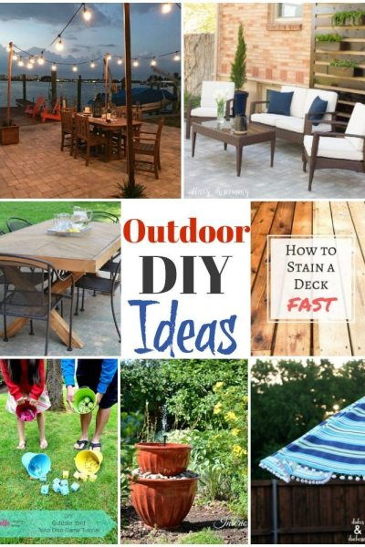 Summer Outdoor DIY Ideas