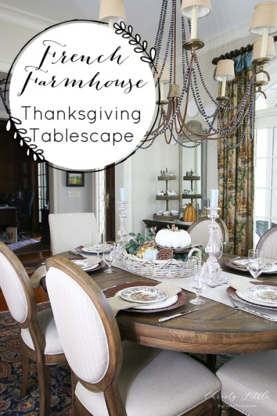 Thanksgiving Tablescape 2018