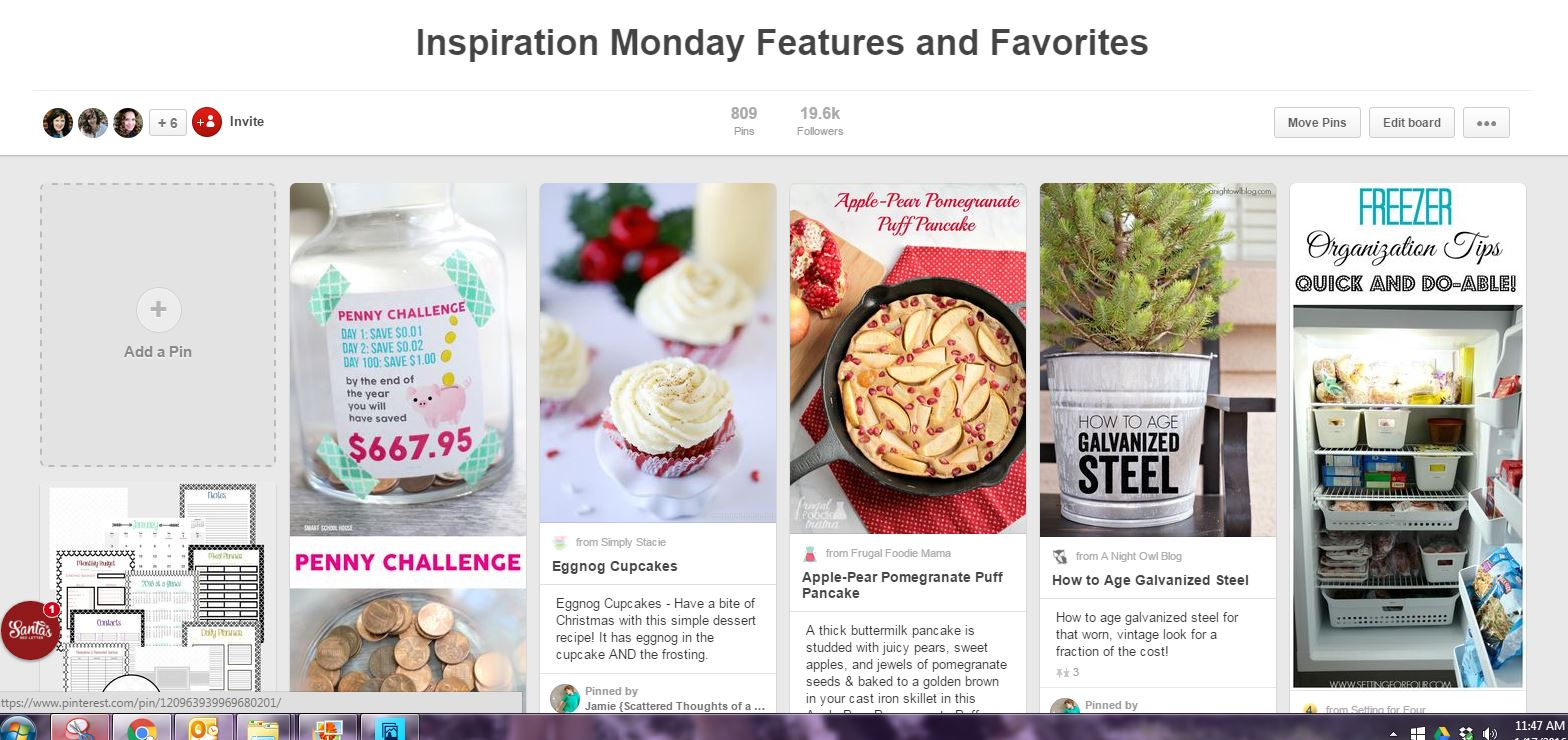 Follow our link party Pinterest Board for ideas and a way to continue promoting each other!