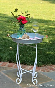 Outdoor Upcycled Table