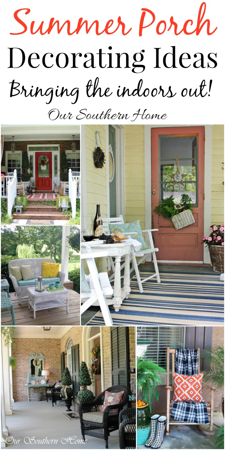 Our Southern Home & Decorating Ideas for Porches - Our Southern Home