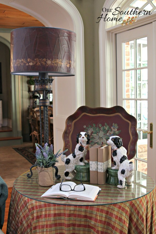 Cozy home decor updates with #unstopables #scentdecor #ad by Our Southern Home