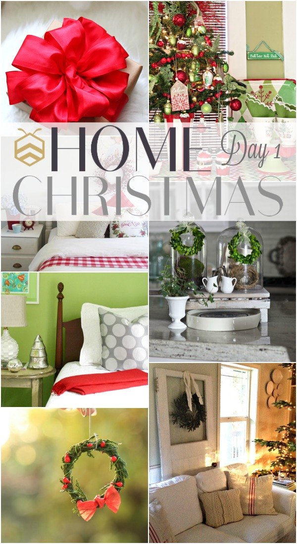 bhome christmas day 1 collage