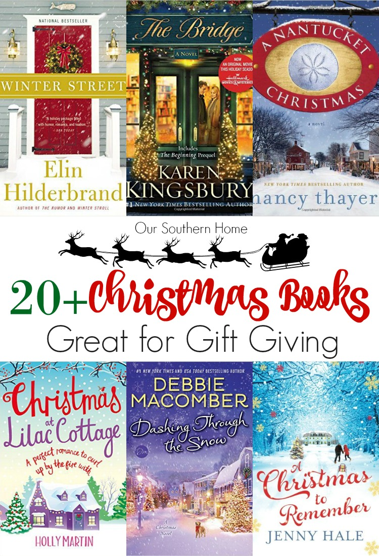 Over 20 Christmas books to curl up with during the season or for gift giving via Our Southern Home