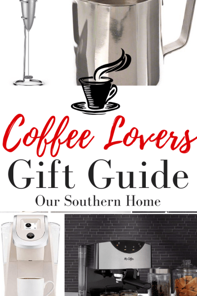 coffee lovers gift guide pin