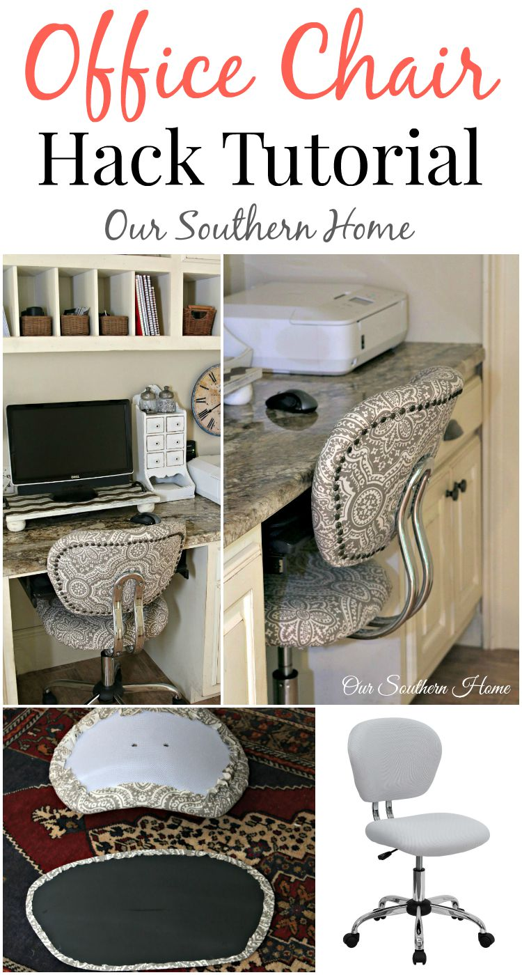 Office Chair Hack Tutorial Our Southern Home