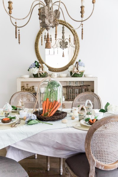 Eight Spring ideas for the home are the features from Inspiration Monday Link Party! #spring #springdecor #springdecorating