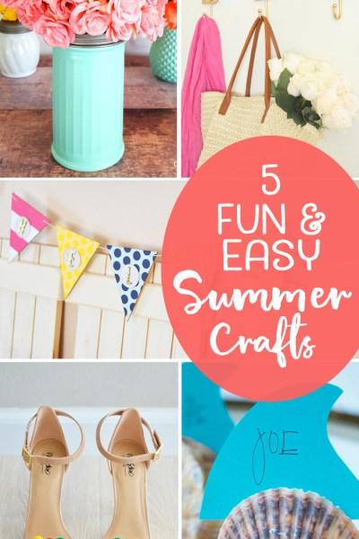 Easy Summer Crafts