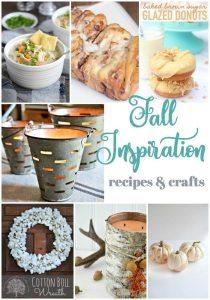 Fall Recipe and Craft Inspiration