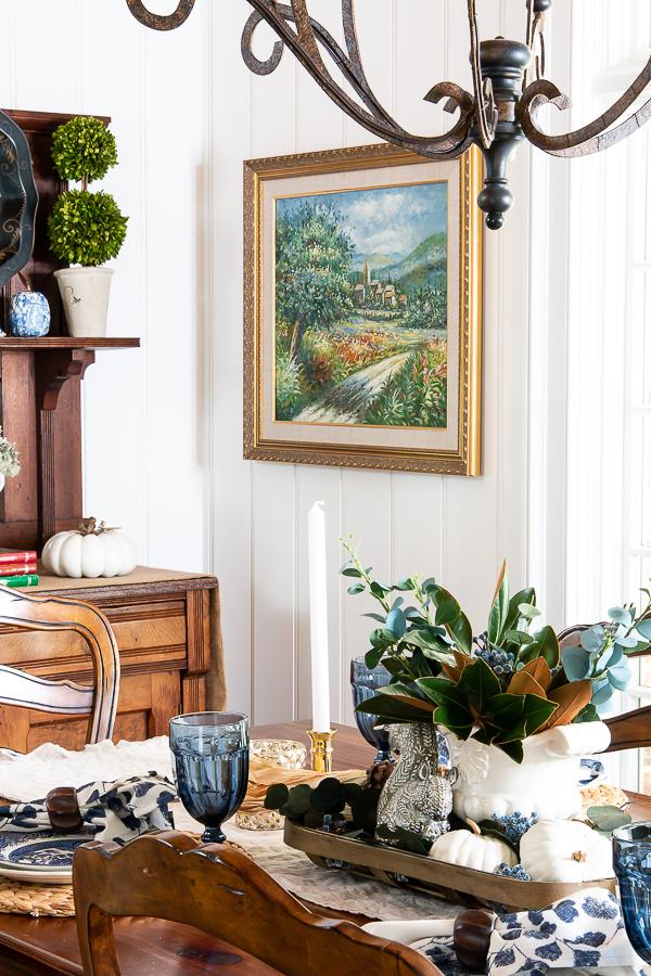 fall breakfast room