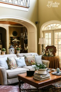 Fall in the Family Room