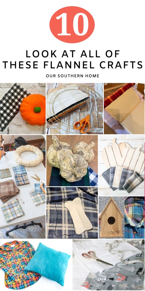 DIY flannel projects
