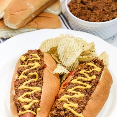 Hot Dog Chili {Southern Tailgate}