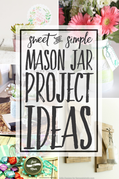 Mason jars are all the rage in home decor and homemaking circles. They are so affordable and versatile. They add charm to any setting. Inspiration Monday Features!