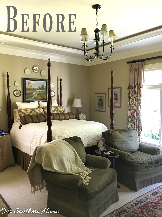 Master Bedroom Updates budget friendly master bedroom updates - our southern home