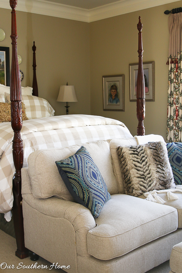 Loveseat For The Master Bedroom Our Southern Home