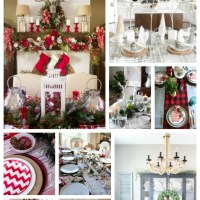 Nine Christmas Tablescape Ideas