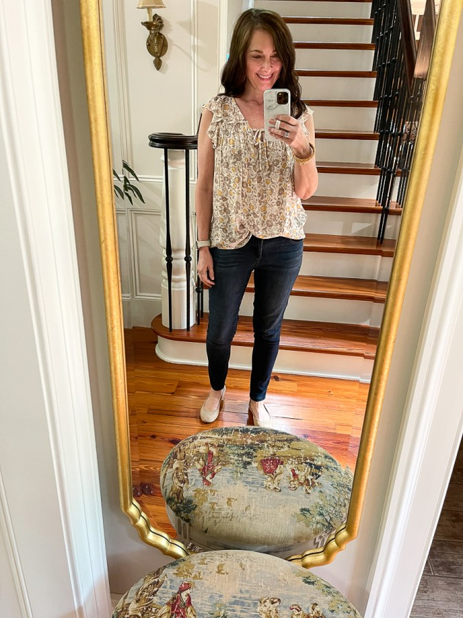 summer look with jeans