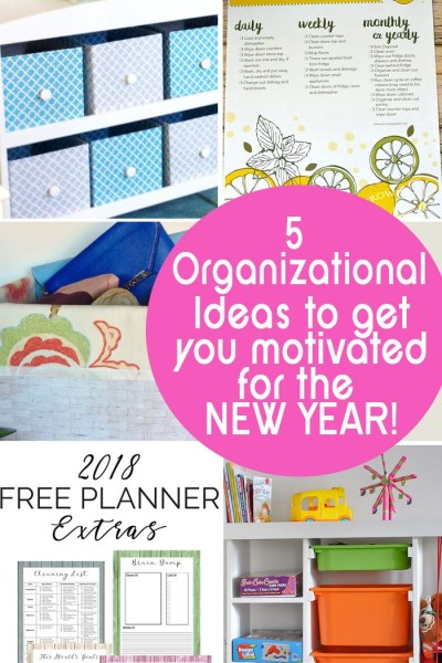 5 Organizational Ideas for the Home