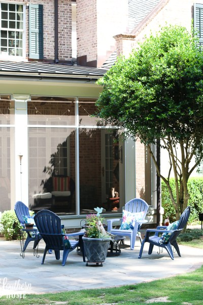 Simply Fresh Patio Makeover