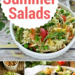 Summer salads are the features from this week's Inspiration Monday link party!