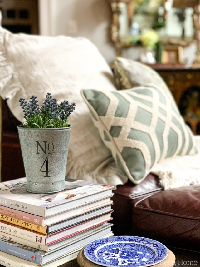 Reading nook in family room
