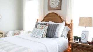 Farmhouse Bedroom Refresh